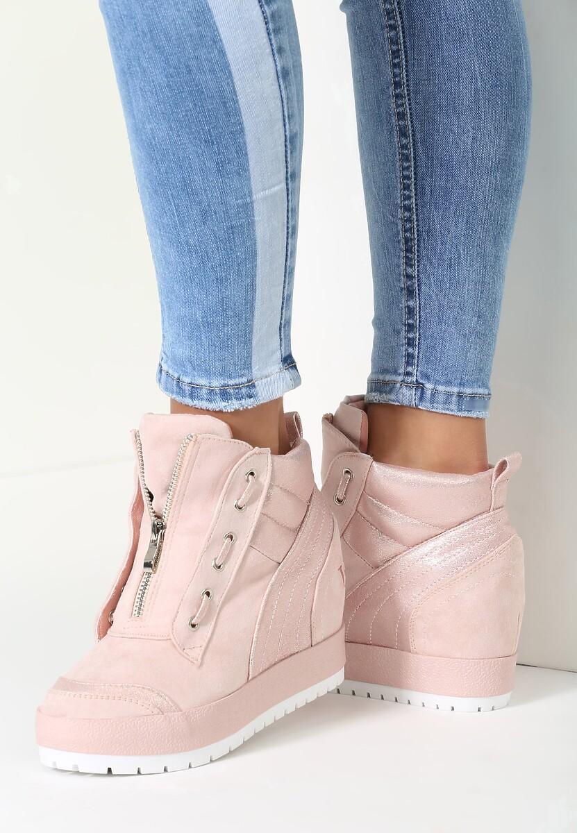 Różowe Sneakersy Somebody To Love