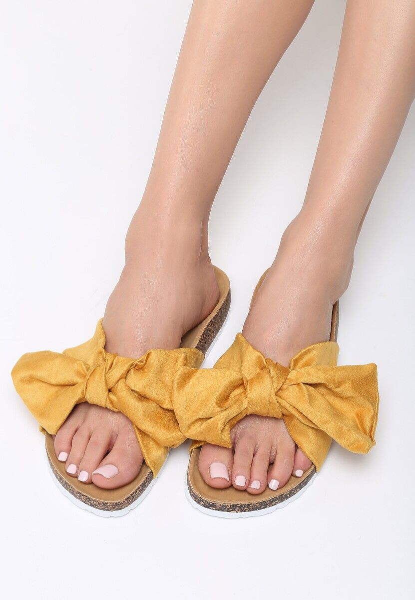 Żółte Klapki Margherita