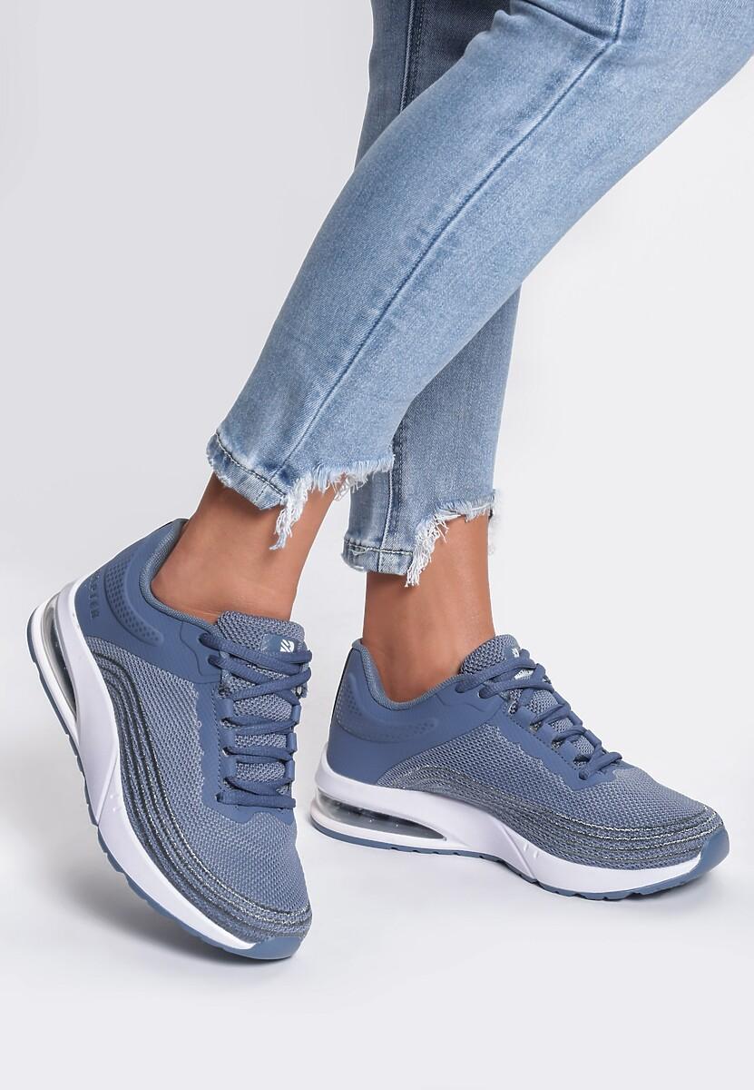 Niebieskie Sneakersy Seasons
