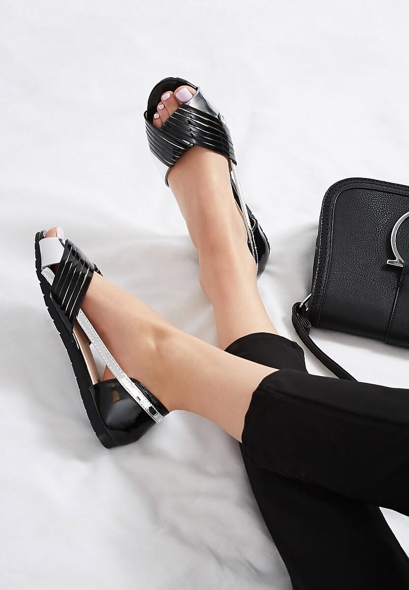 Czarne Sandały It's So Simple