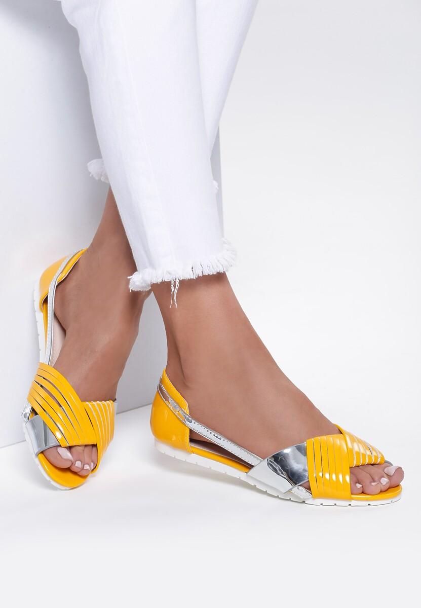 Żółte Sandały It's So Simple