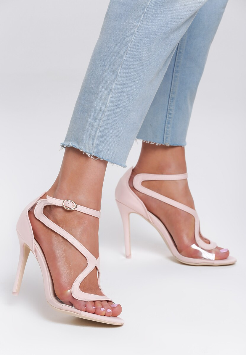 Różowe Sandały Bubbly