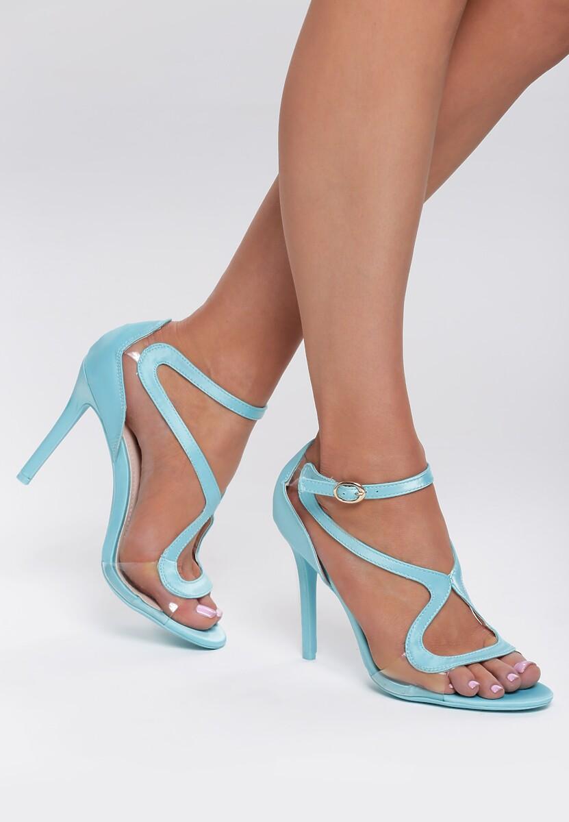 Niebieskie Sandały Bubbly