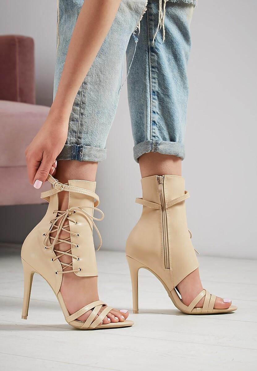 Beżowe Sandały Patient Love
