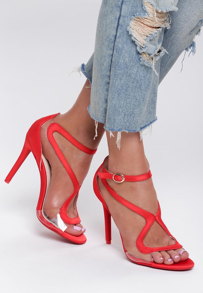 Czerwone Sandały Bubbly