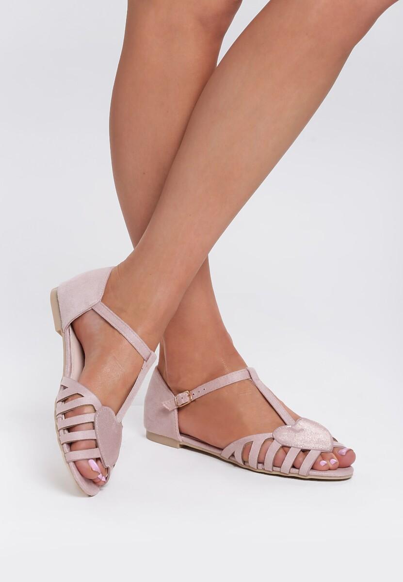 Różowe Sandały Wild Enough
