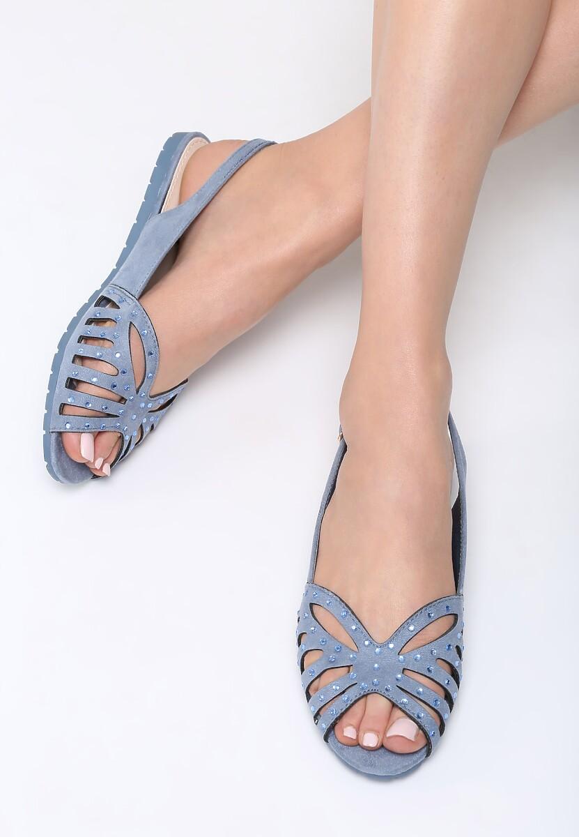 Niebieskie Sandały Thundercloud
