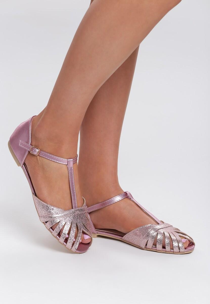 Szampańskie Sandały Delighting Glow