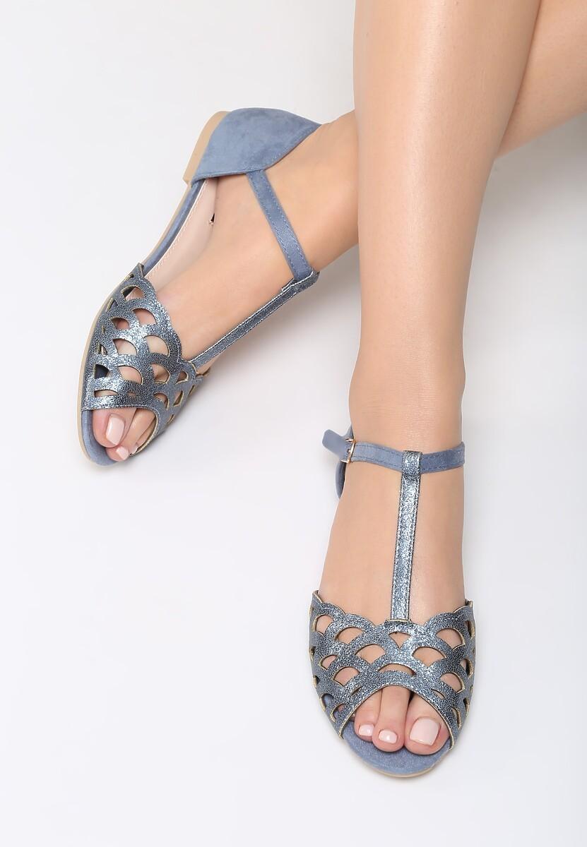 Niebieskie Sandały Cinnabar