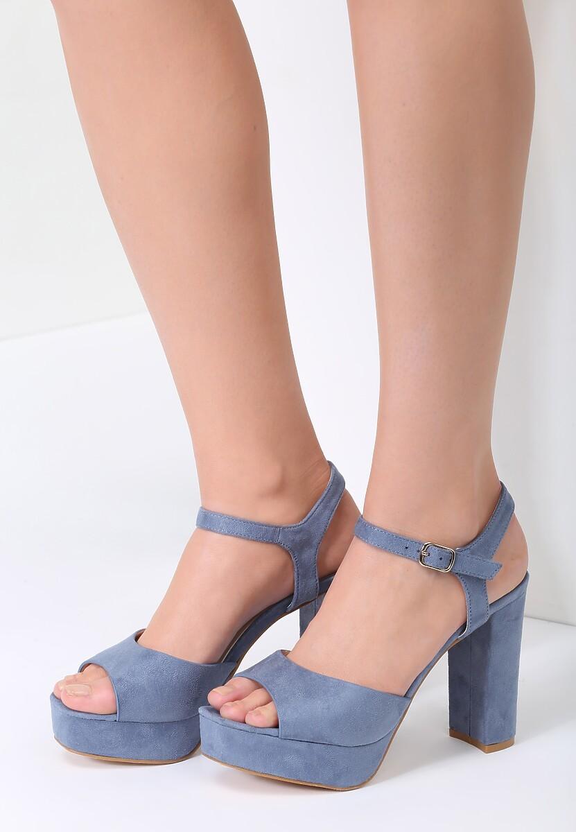 Niebieskie Sandały What They Want