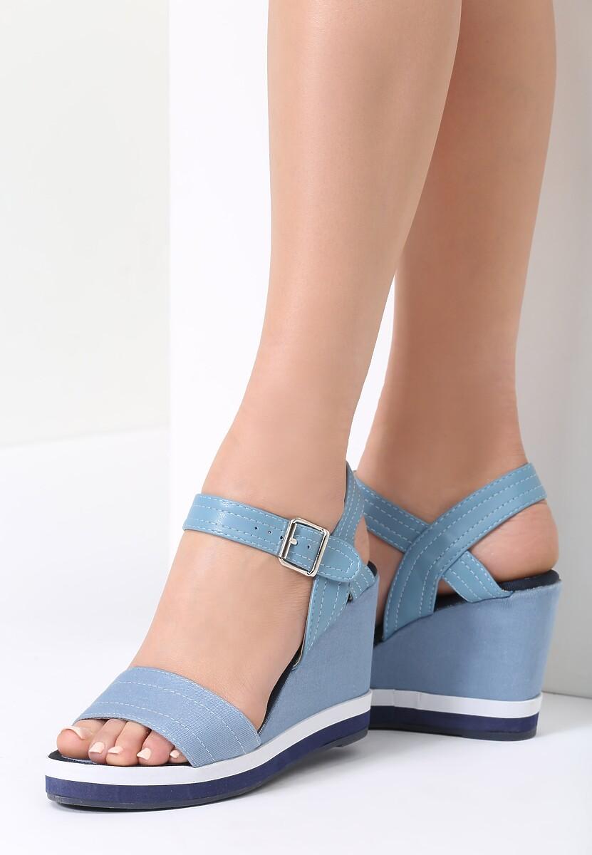 Niebieskie Sandały One Thing