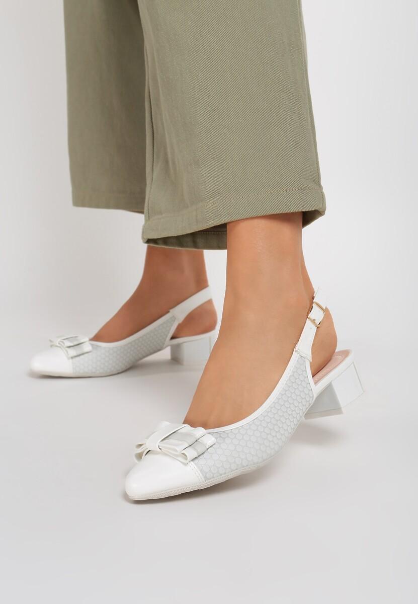 Białe Sandały California Roll