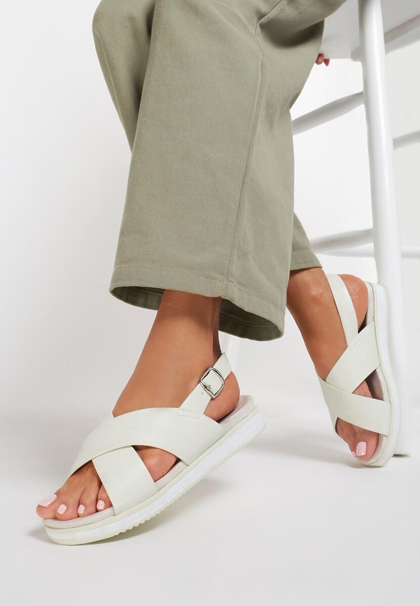 Białe Sandały Resourceful