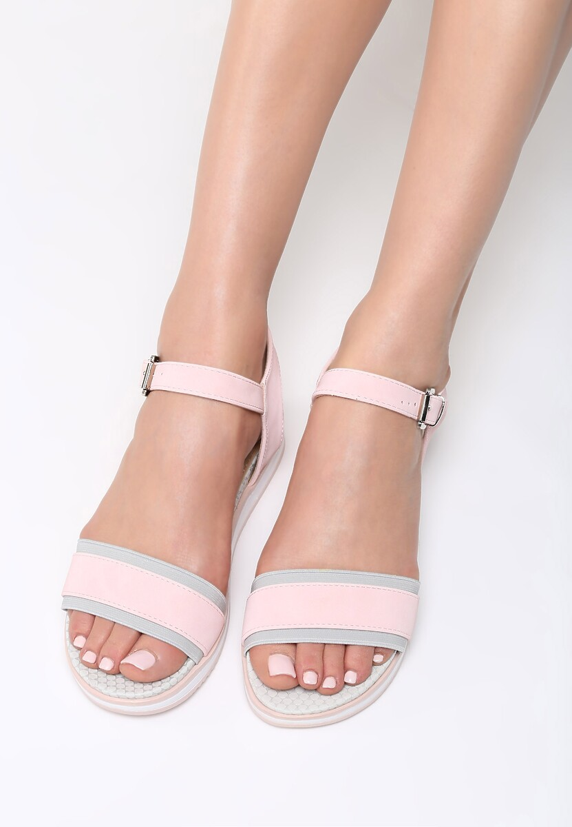 Różowe Sandały Imperturbable