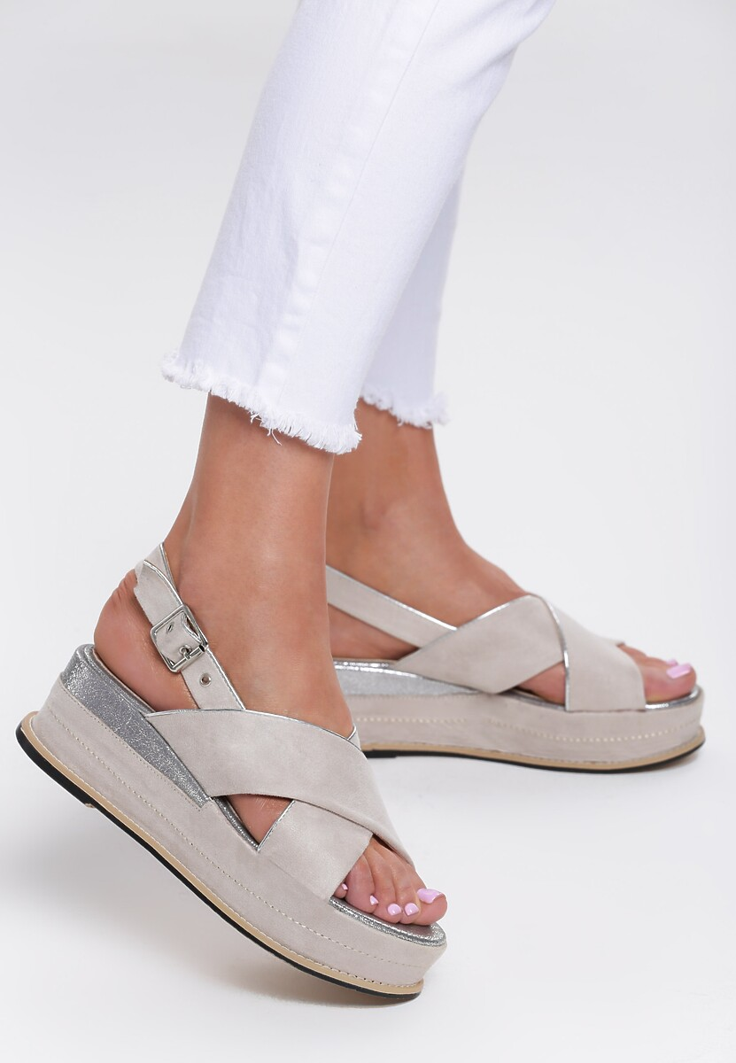 Beżowe Sandały No Matter What