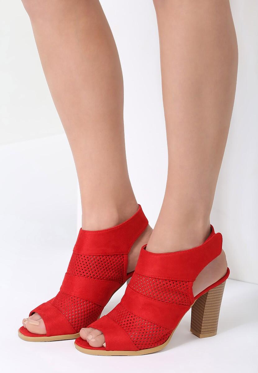 Czerwone Sandały Every Kingdom