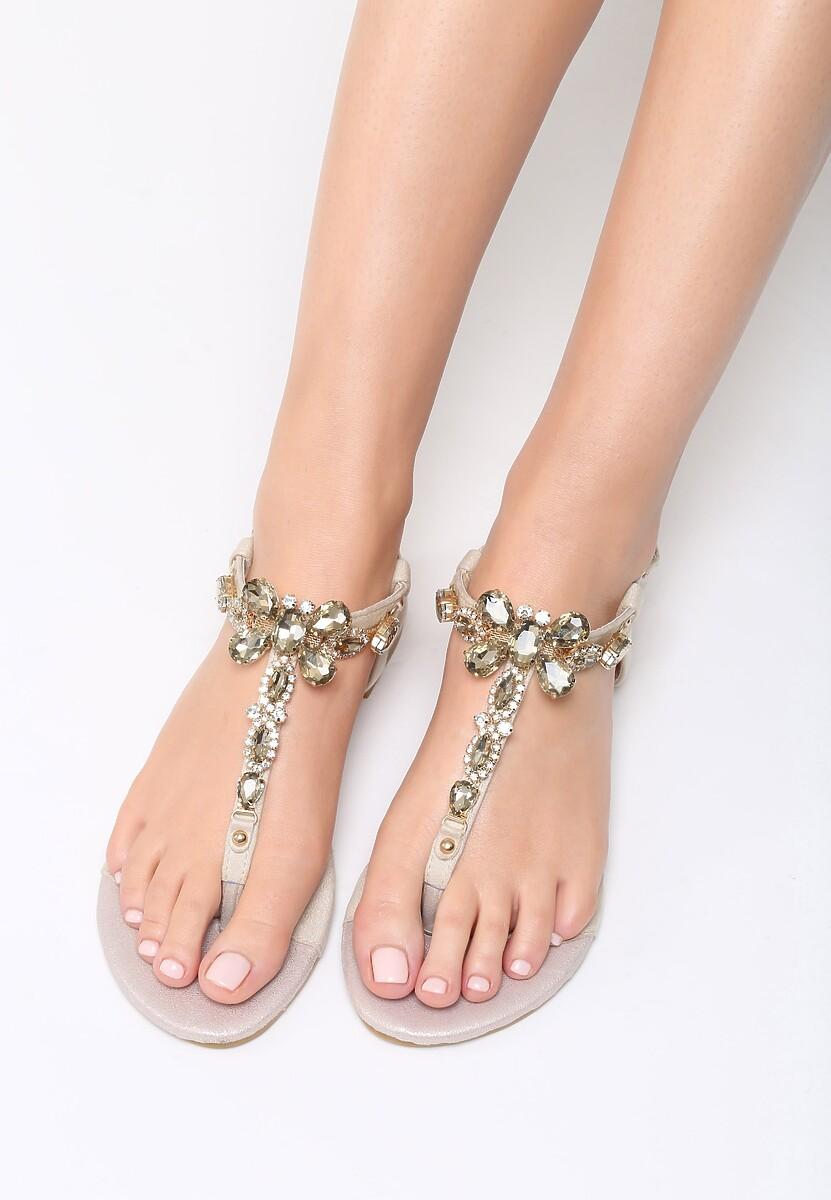 Beżowe Sandały Joyous