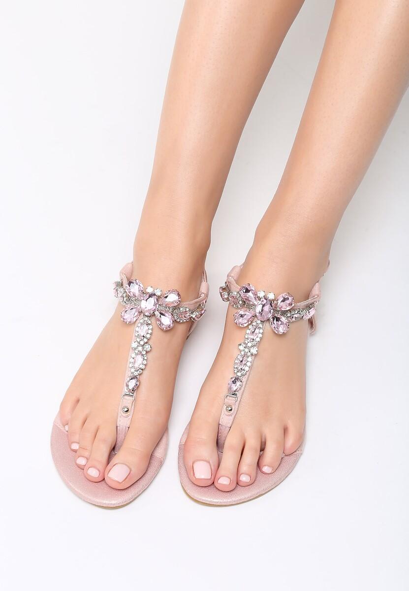 Różowe Sandały Joyous