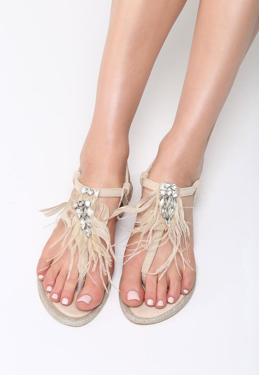 Beżowe Sandały Still Standing