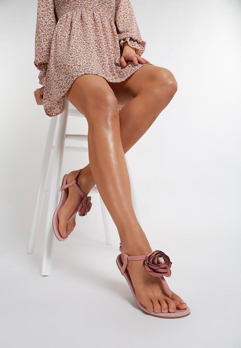 Różowe Sandały Self-Obsession