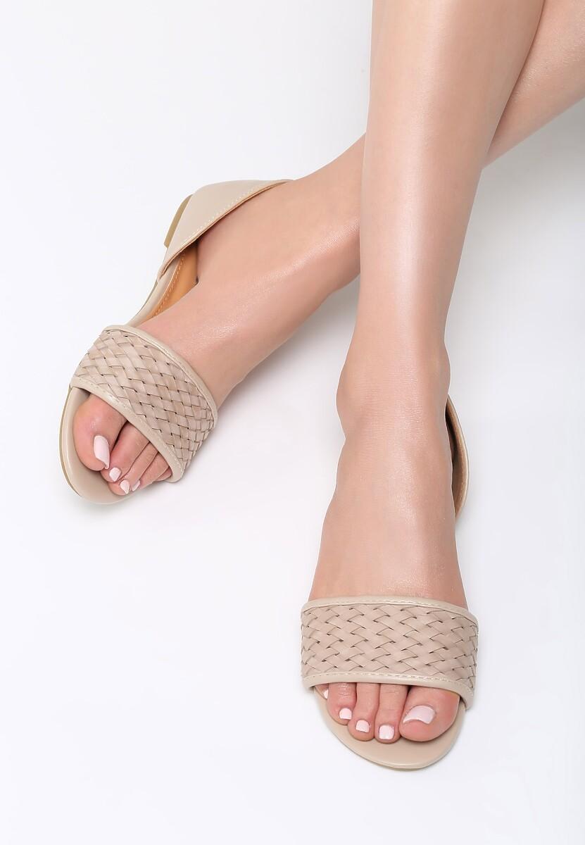 Beżowe Sandały City Dream