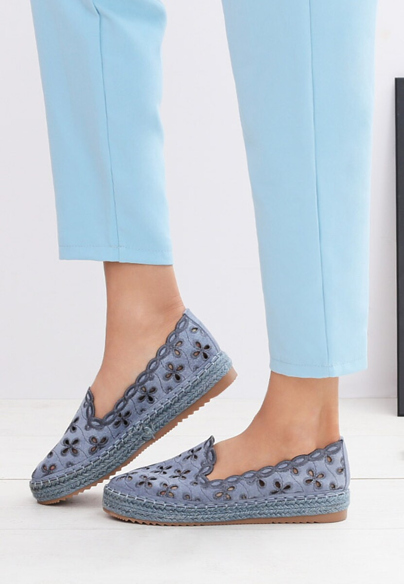 Niebieskie Espadryle Break The Dawn