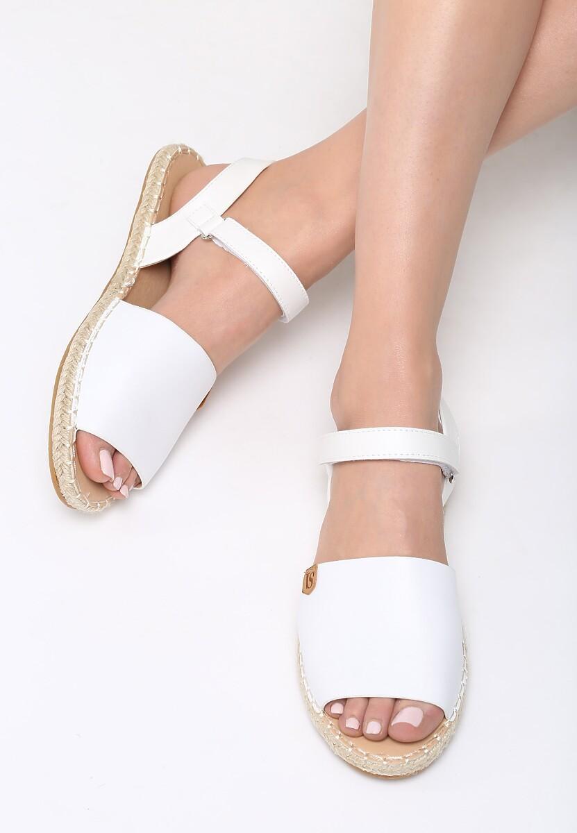 Białe Sandały Retrograde