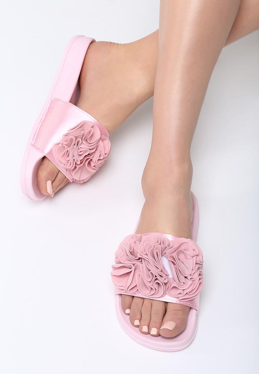Różowe Klapki Talk To Me