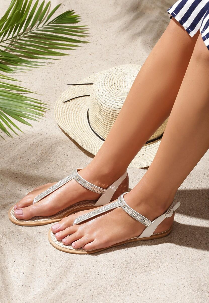 Białe Sandały Glamorous