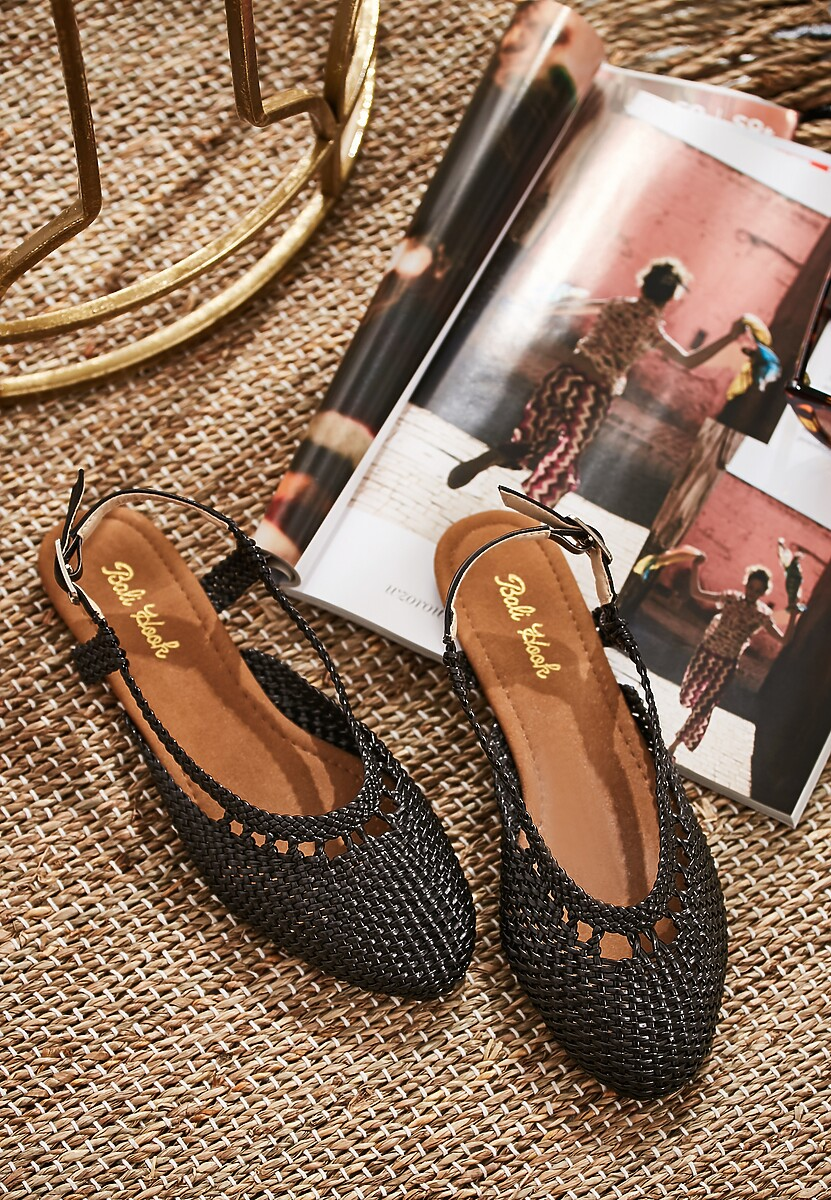 Czarne Sandały Almost Paradise