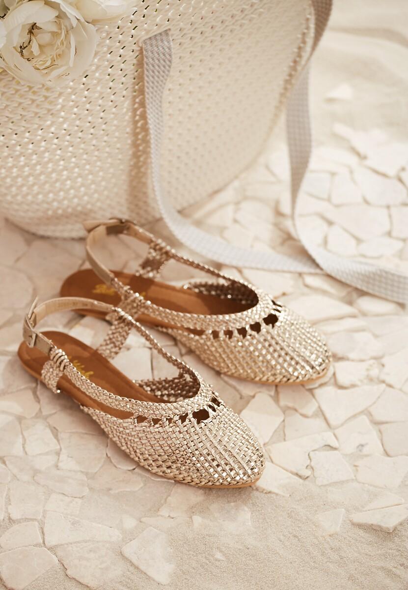 Złote Sandały Almost Paradise