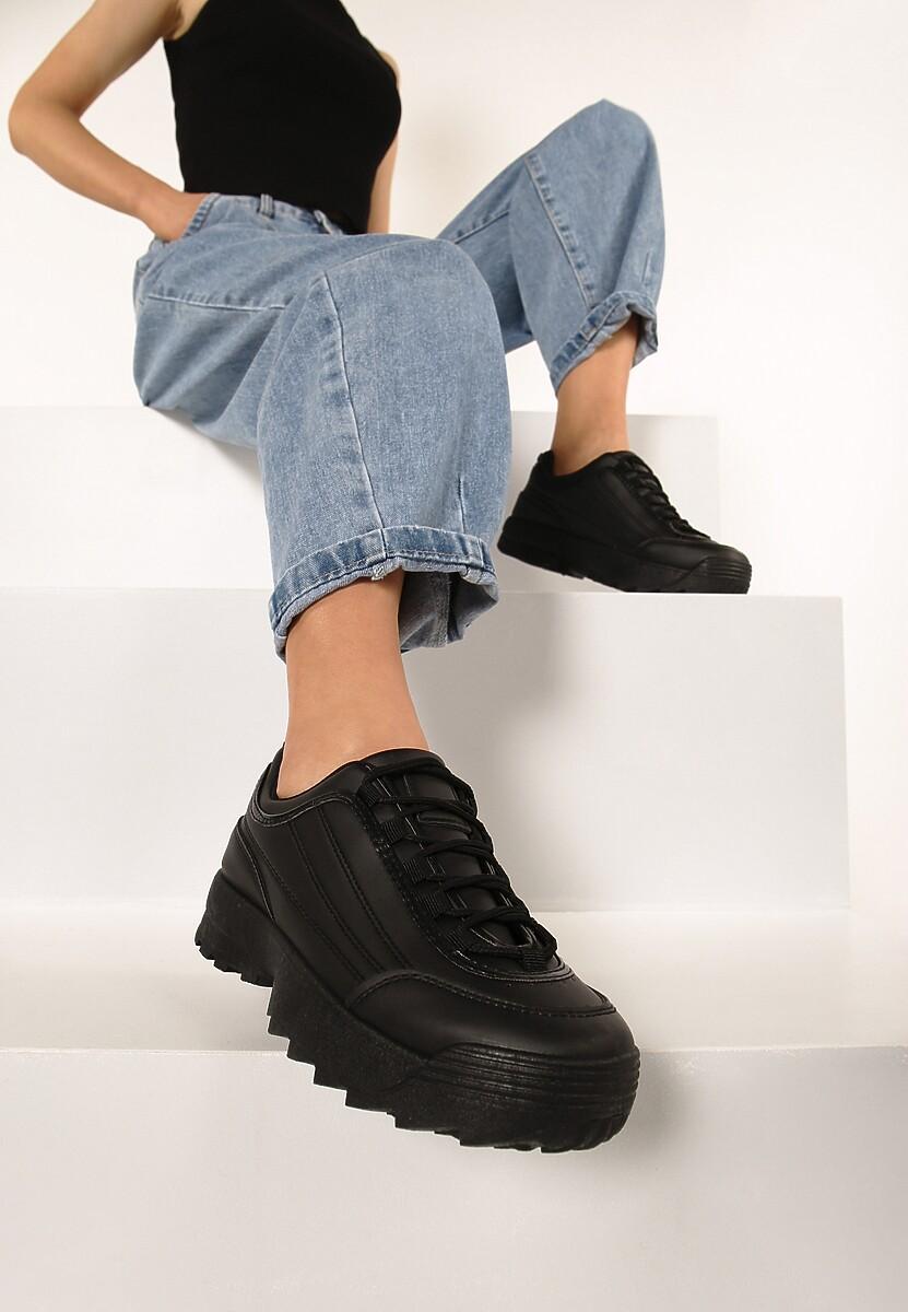 Czarne Sneakersy Back To Us