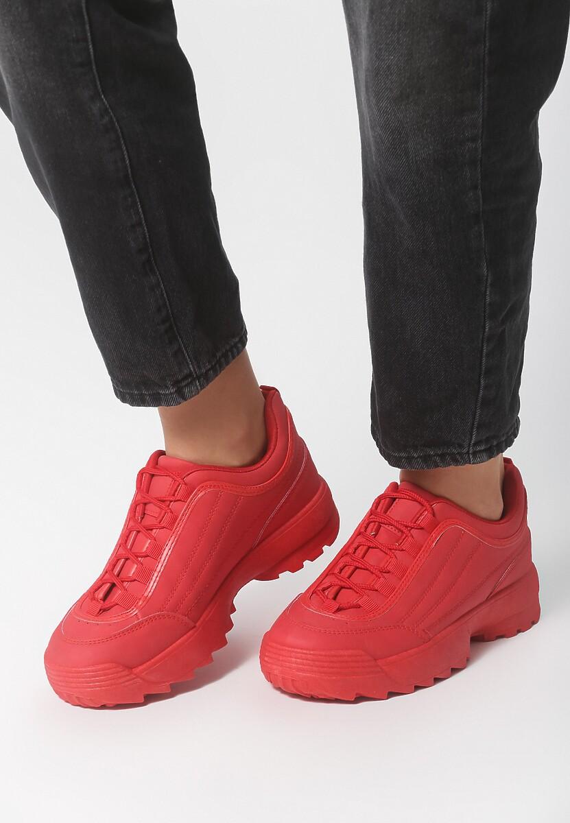Czerwone Sneakersy Back To Us