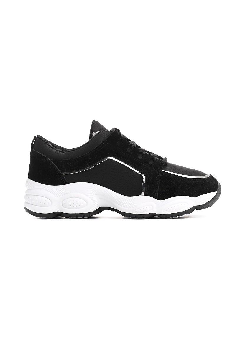 Czarne Sneakersy Long Run