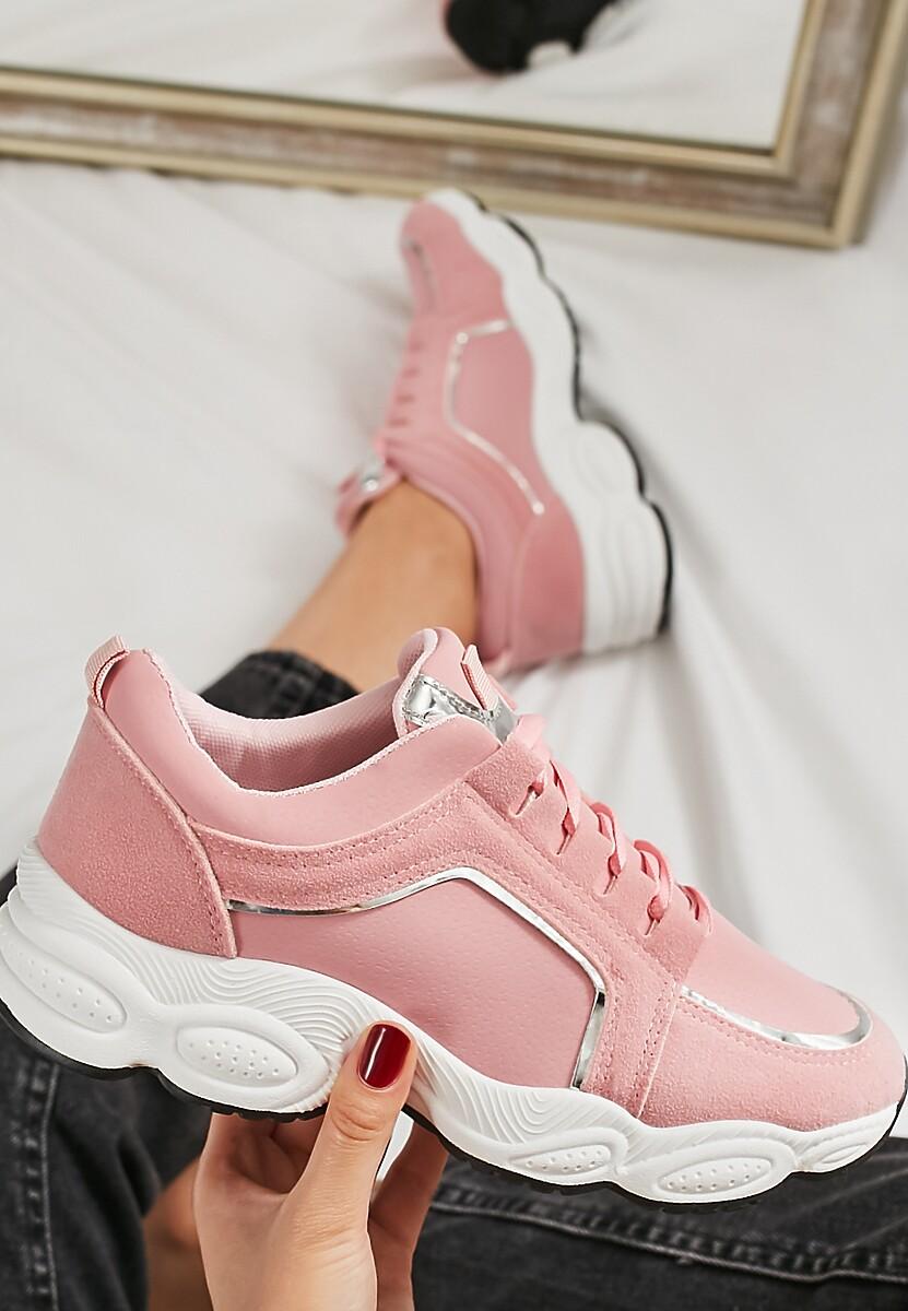Różowe Buty Sportowe Long Run