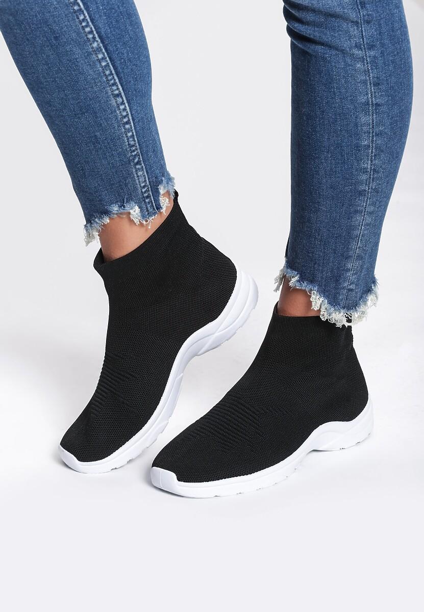 Czarne Sneakersy Hypnotised
