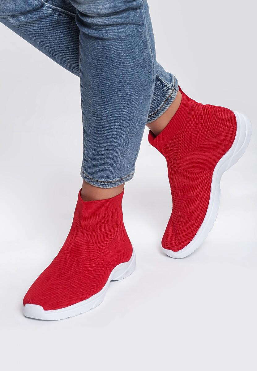 Czerwone Sneakersy Hypnotised