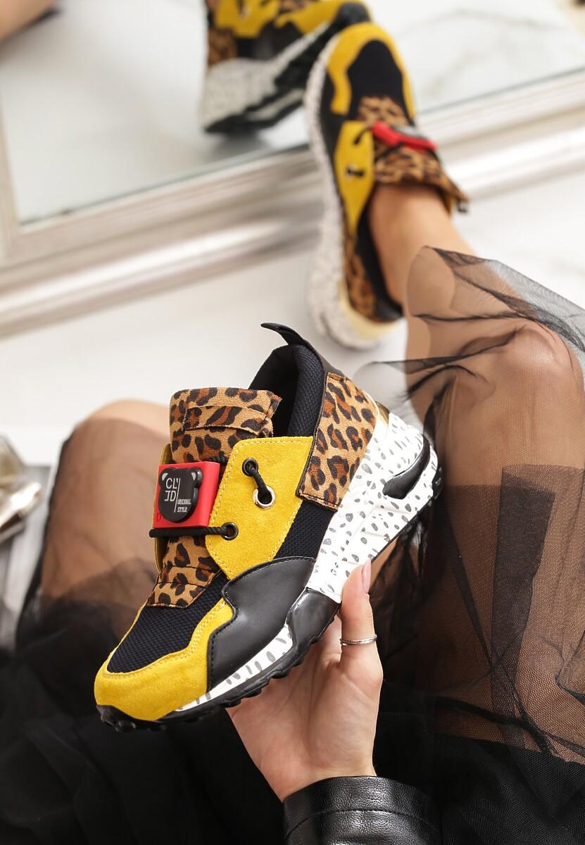 Musztardowe Sneakersy Million Reasons