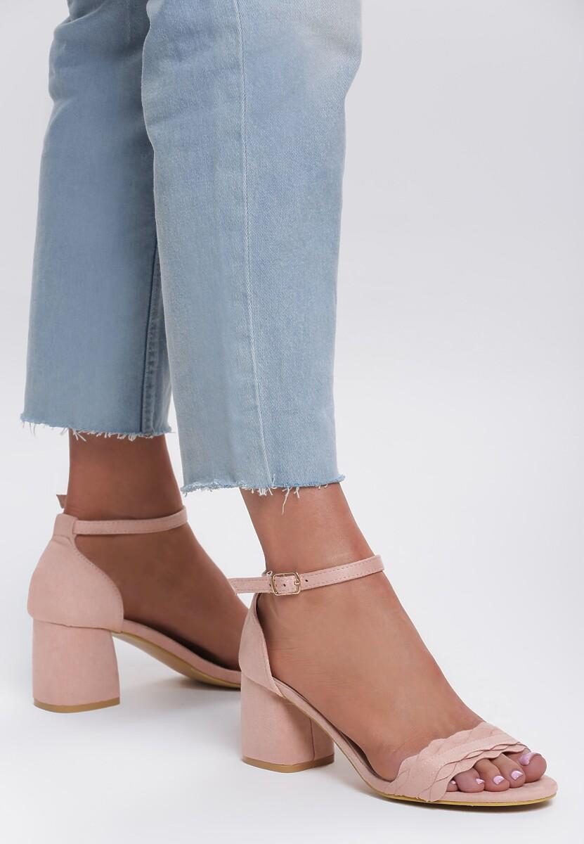 Różowe Sandały Profile