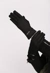 Czarne Rękawiczki Worldly Wise