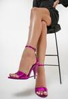 Ciemnoróżowe Sandały Kendall + Kylie Tapered