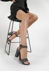 Czarno-Białe Sandały Kendall + Kylie Bright And Comfy