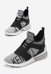 Szaro-Czarne Sneakersy Kendall + Kylie Streetwear