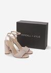 Beżowe Sandały Kendall + Kylie Wreathe