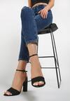 Czarne Sandały Kendall + Kylie Wreathe