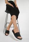 Czarne Klapki Kendall + Kylie Monochrome