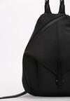 Czarny Plecak Kendall + Kylie Ribbed