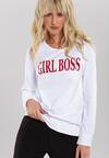 Biało-Czerwona Bluza Girl Rule