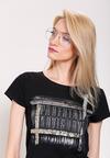 Srebrno-Białe Okulary Zerówki Pilot Girl