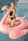 Różowy Materac Exotic Bird